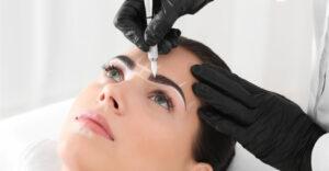 Augenbrauen Styling