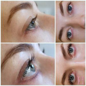 Wimernwelle Wimpern und Augenbrauen Styling